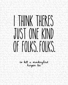 Scout finch quotes to kill a mockingbird